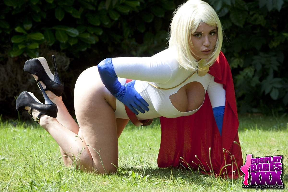 Excited too Power girl cosplayers xxx advise