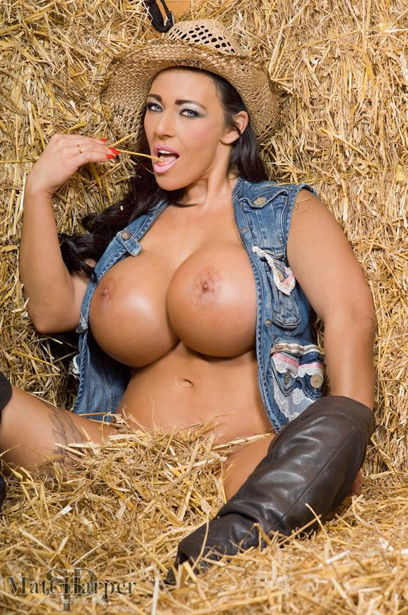 Busty cowgirls nude about one