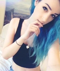 Katie-Kitten-selfie