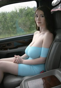 Tanya-song-busty-car