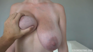 monika huge tits czech casting