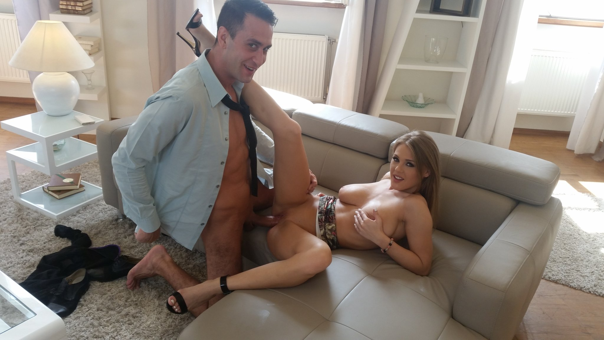Viola Baileys fucked by Kai Taylor behind the scenes for DDF