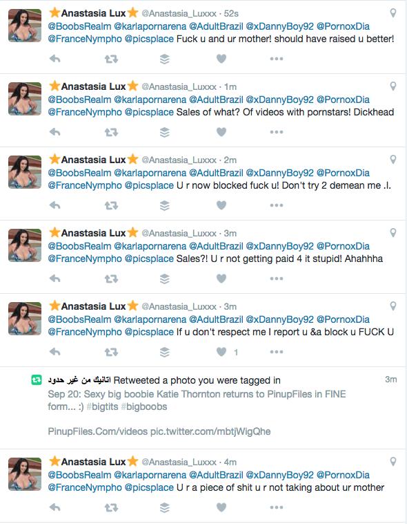 twitter anastasia luxxx