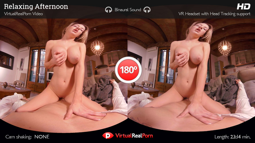 Sienna Day Relaxing Afternoon, VR Porn on Sex Like Real