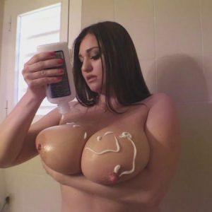demmi blaze sexy shower