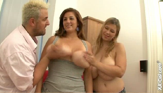Big tits Eden Mor and Terry Nova on XX-Cel, Merilyn Sakova video