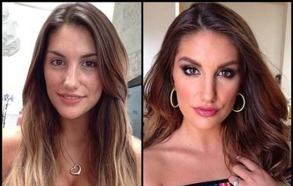 august ames no make-up