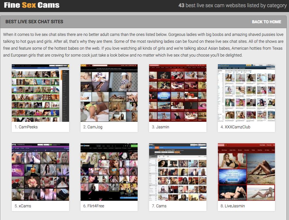 webcams directory