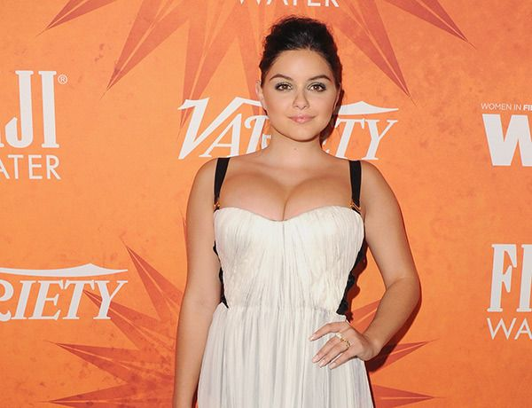 ariel winter breast