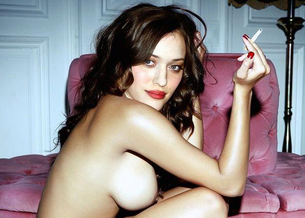 kat dennings naked