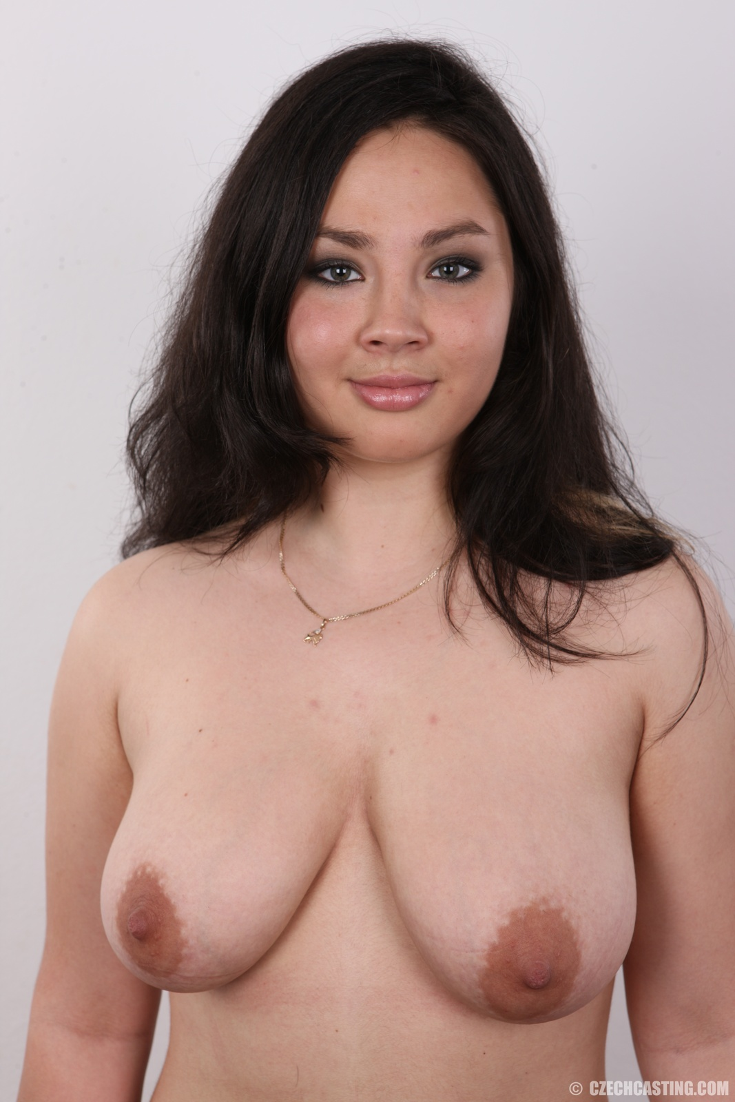 image Chubby busty saggy girl with cute face