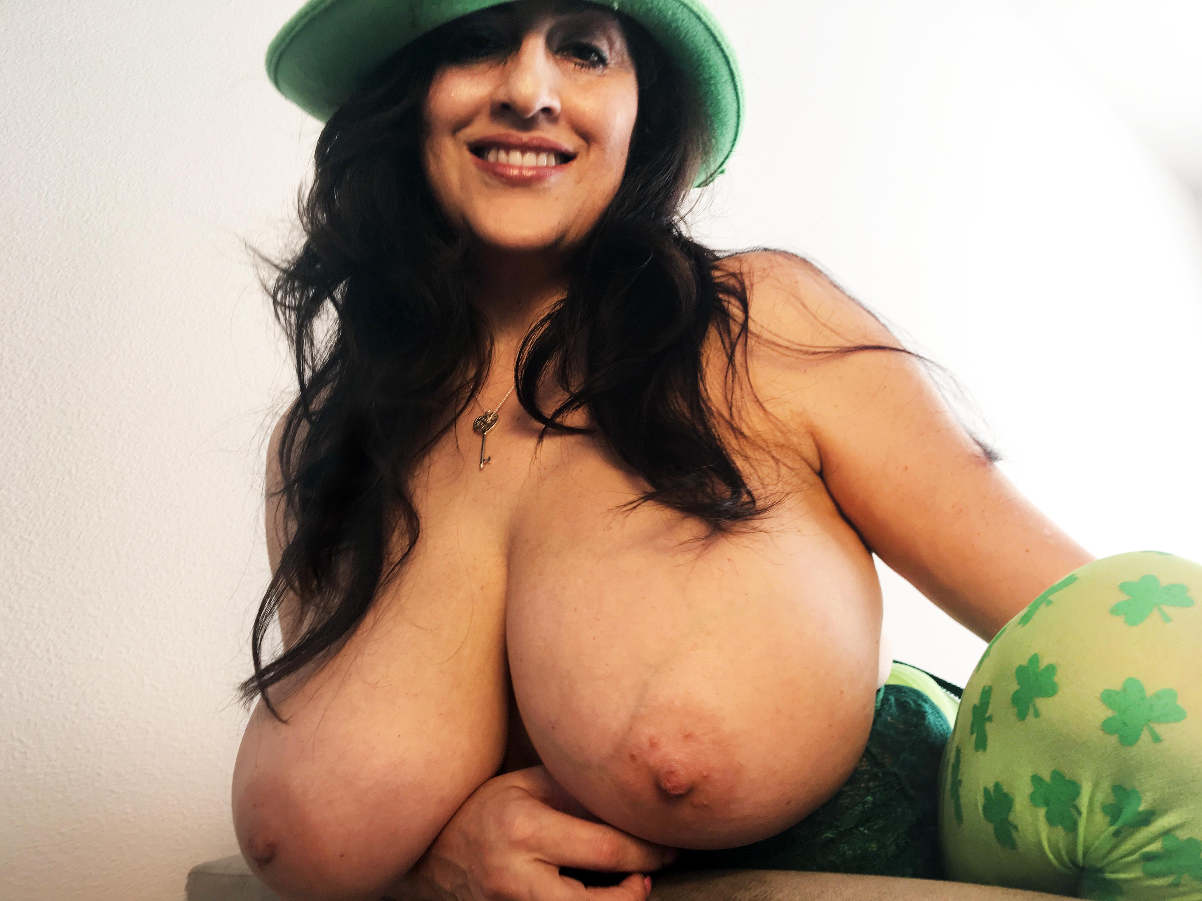 big boob celebration