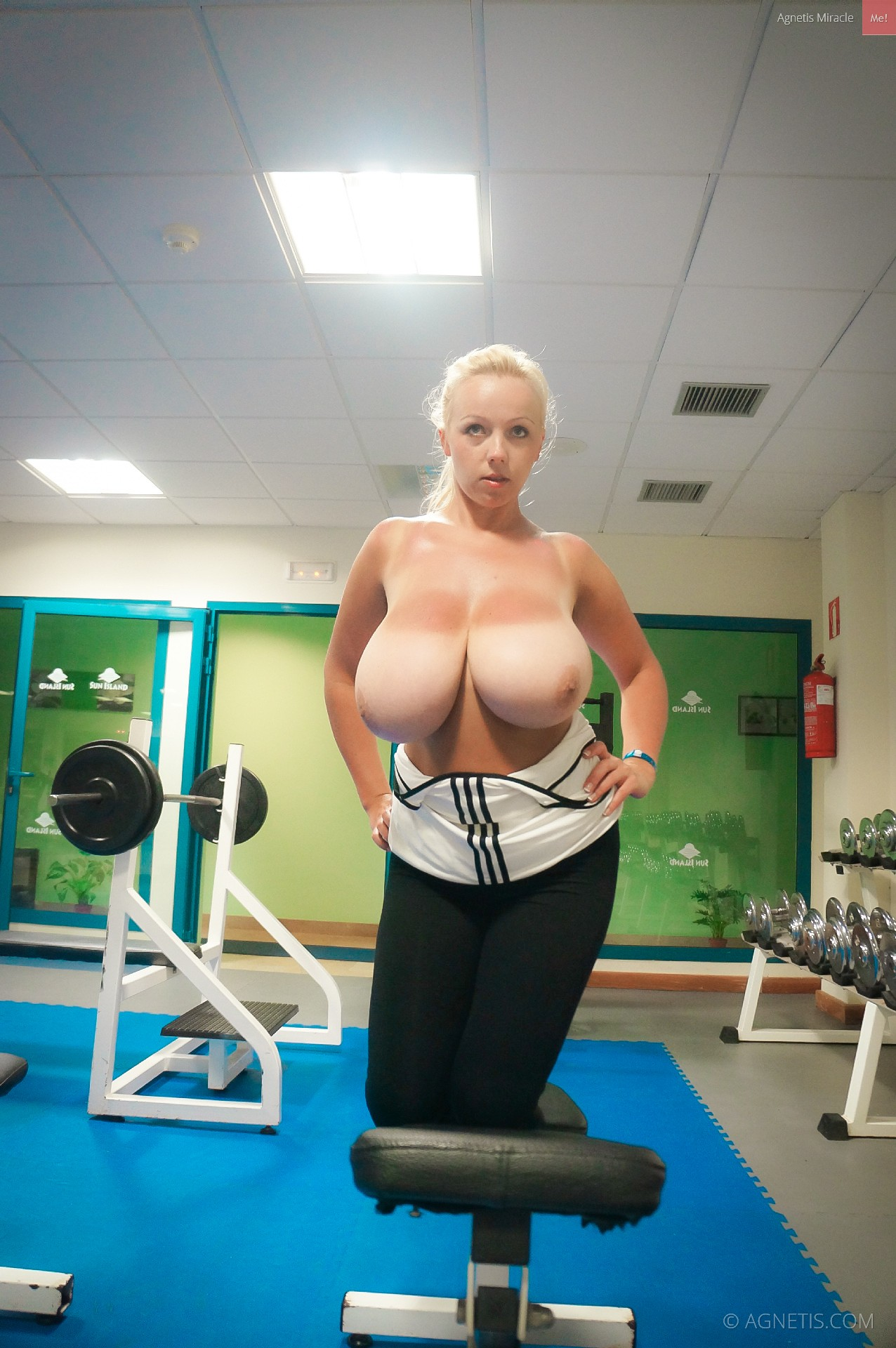 boob work out